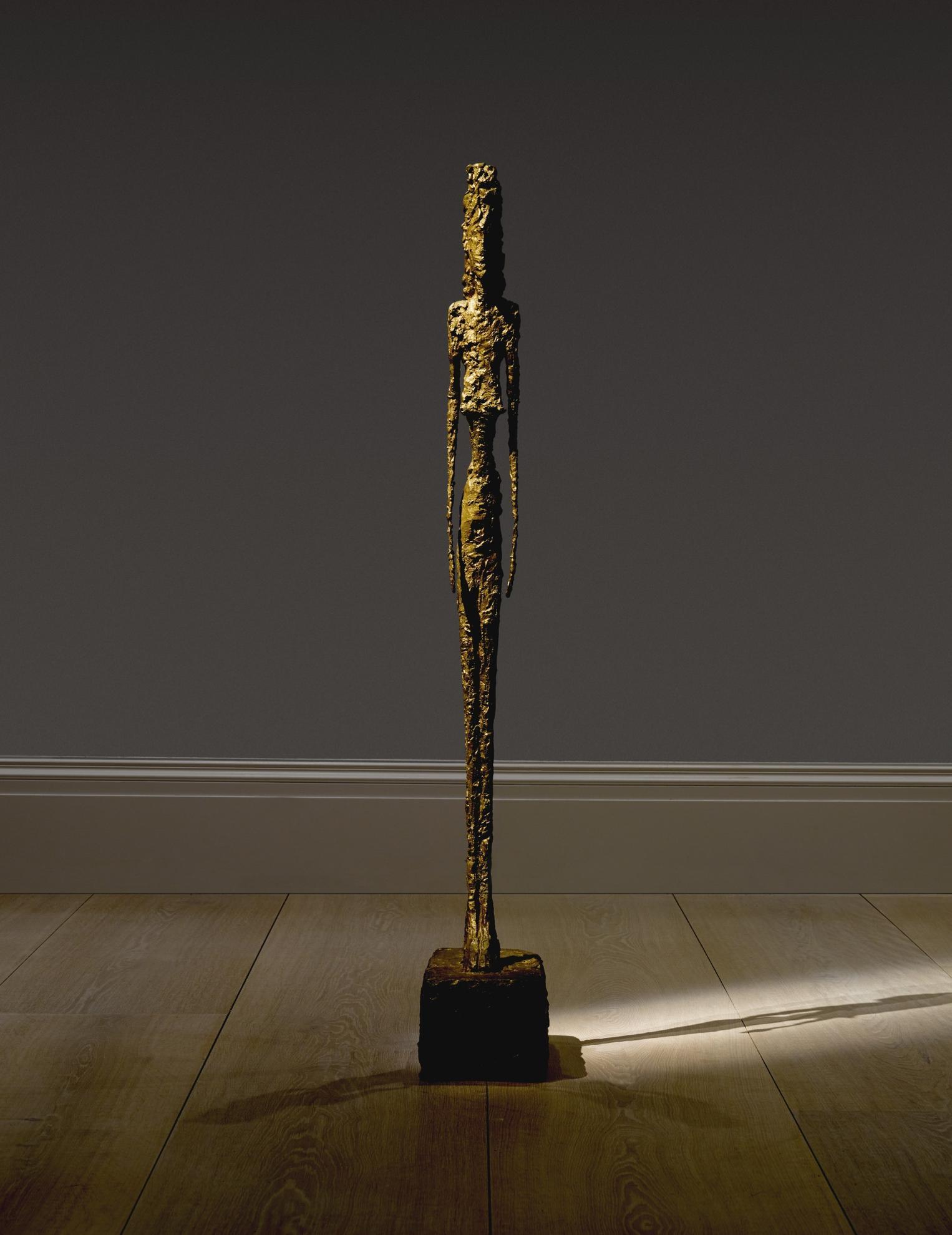 Alberto Giacometti-Grande Figure-1948