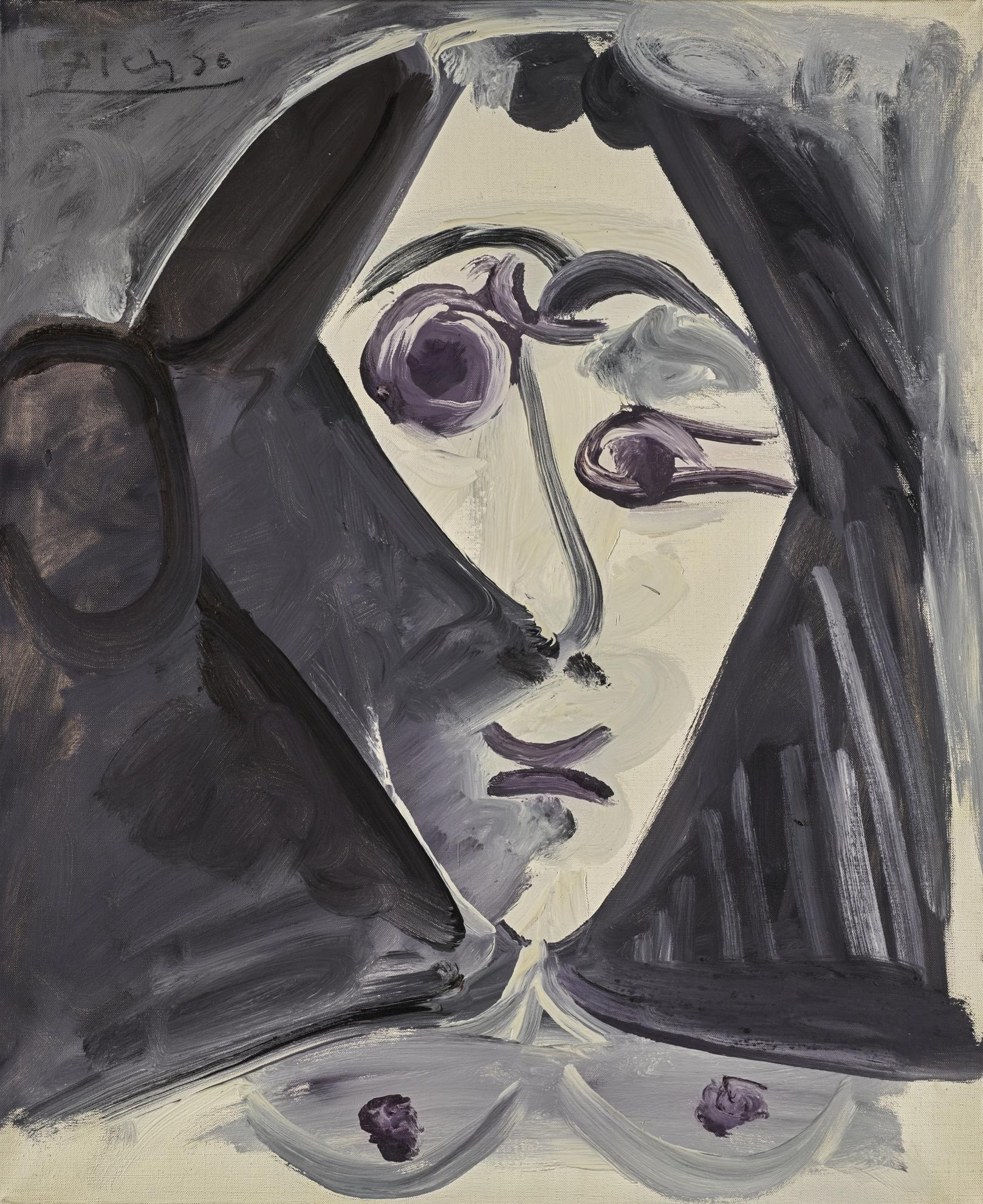 Pablo Picasso-Buste De Femme-1968