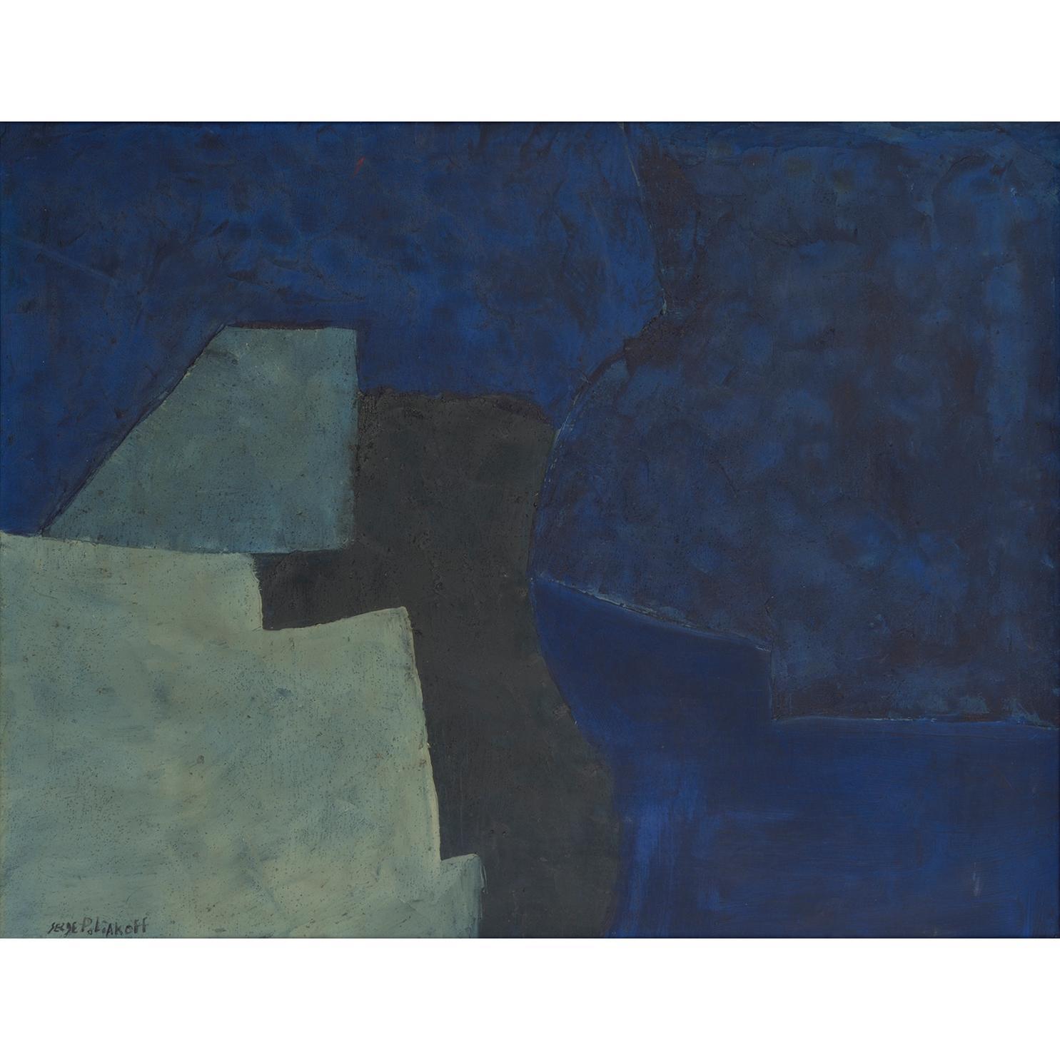 Serge Poliakoff-Bleu-1952