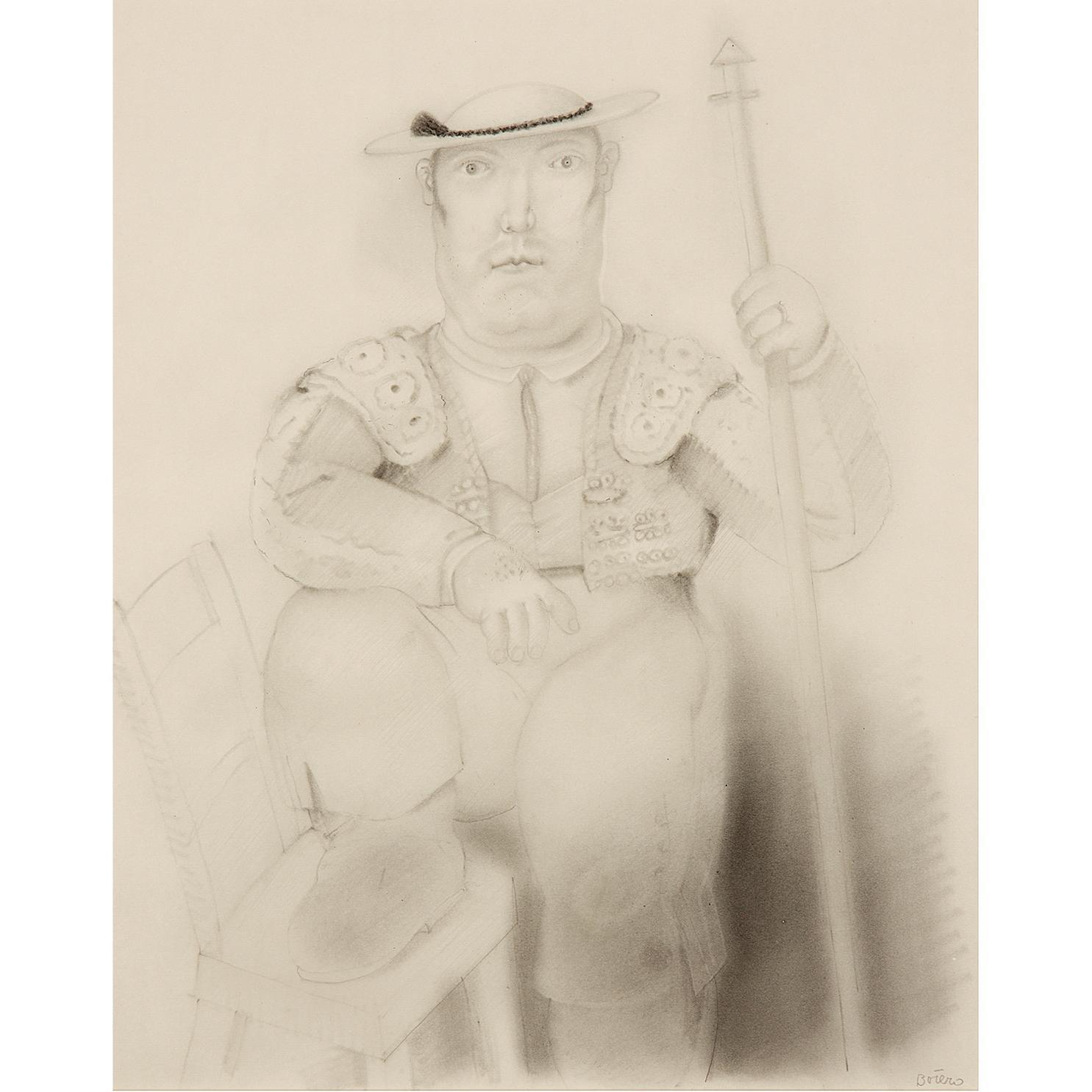 Fernando Botero-Melone Chico-1984
