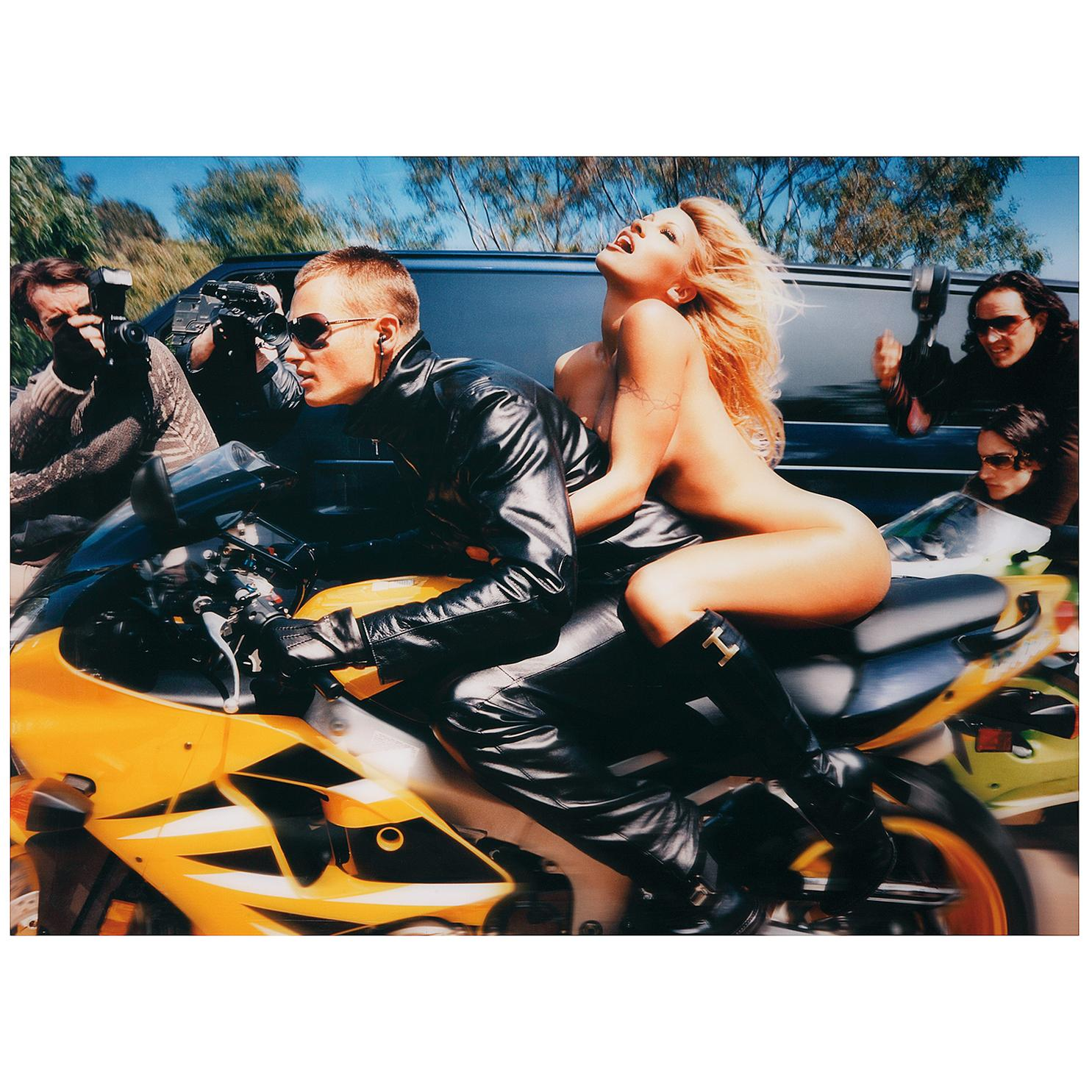 David LaChapelle-Pamela Anderson: Faster, Faster, I Am Almost There-2001