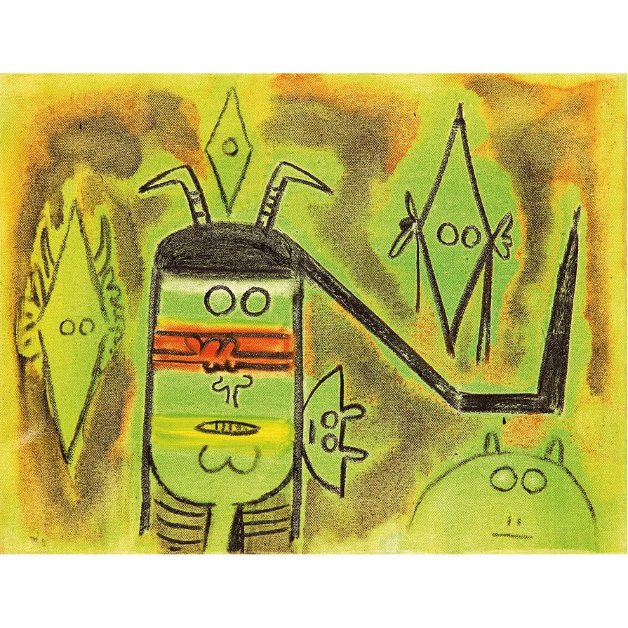 Wifredo Lam-Composition-1971
