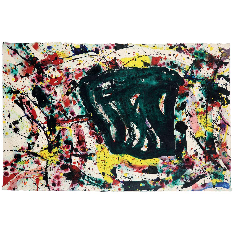 Sam Francis-Sans Titre (Sf75-184)-1975