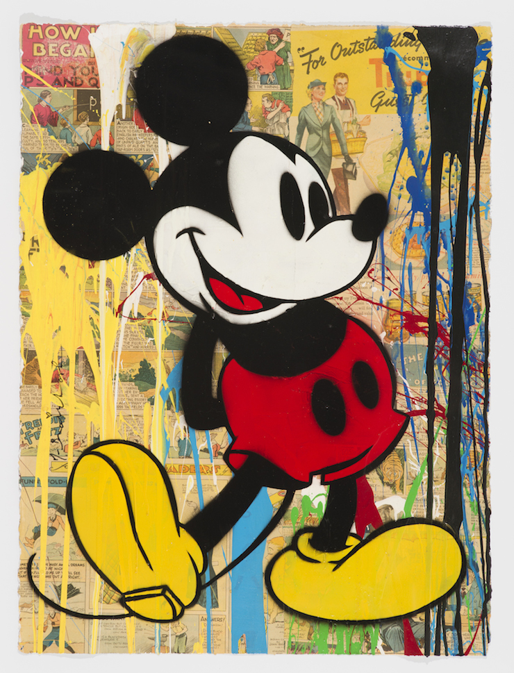 Mr. Brainwash-Mickey-2014