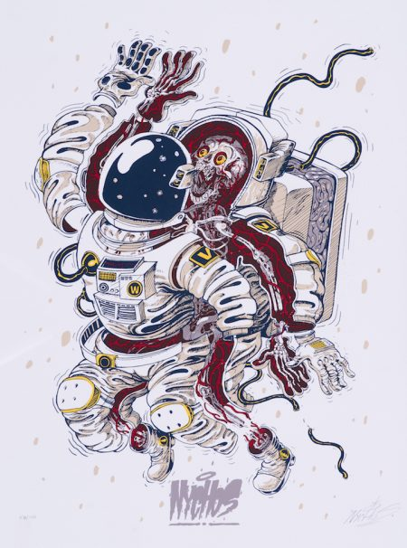 Nychos-Dissection Of An Astronaut-