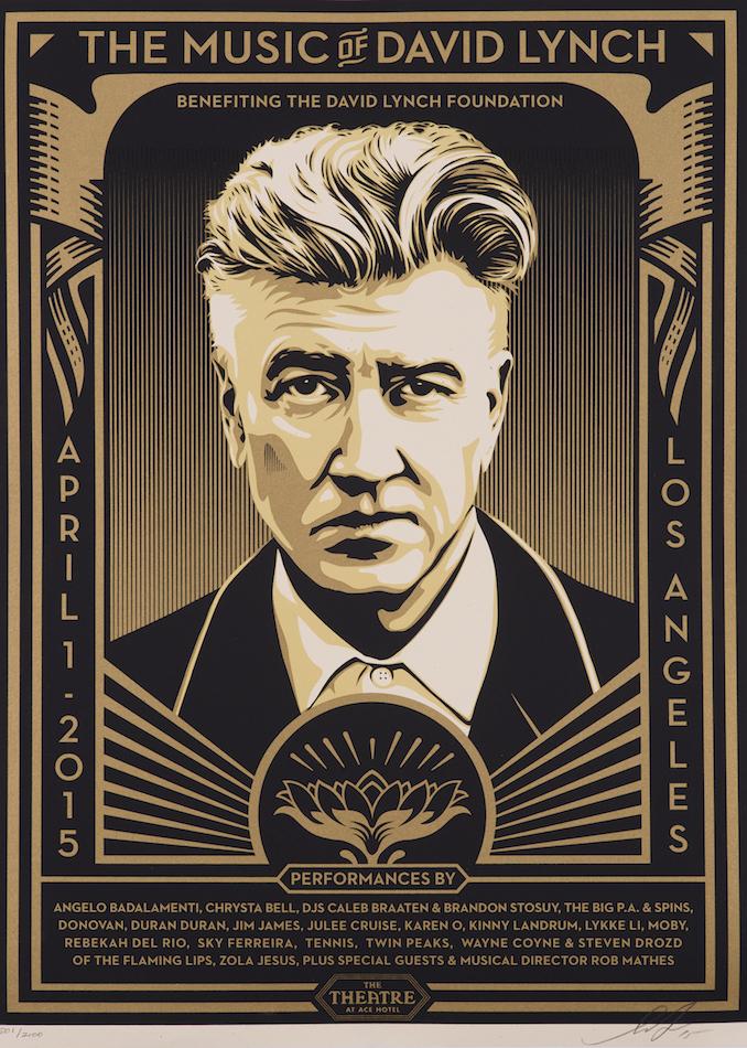 Shepard Fairey-The Music Of David Lynch-2015