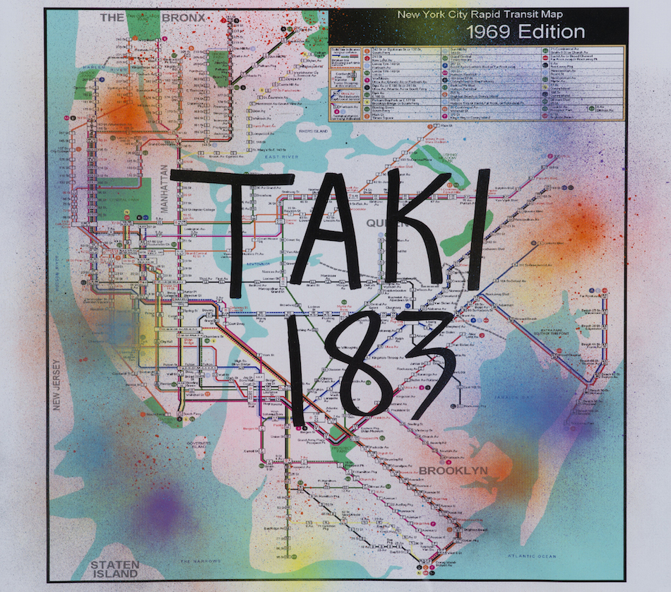 TAKI 183-NYC Rapid Transit Map - 1969 Edition-
