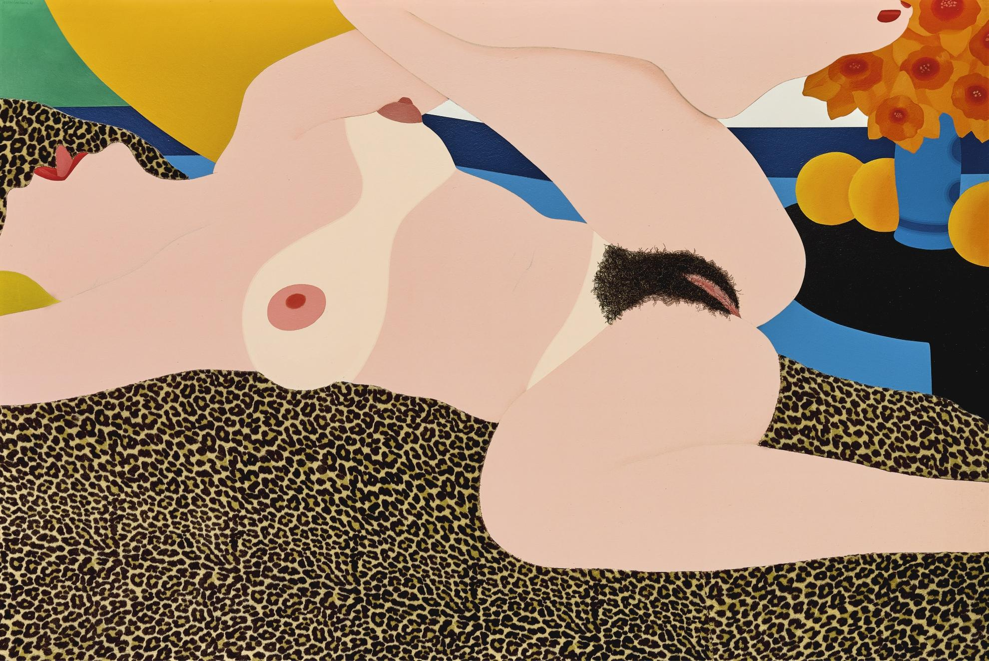 Tom Wesselmann-Great American Nude #87-1967