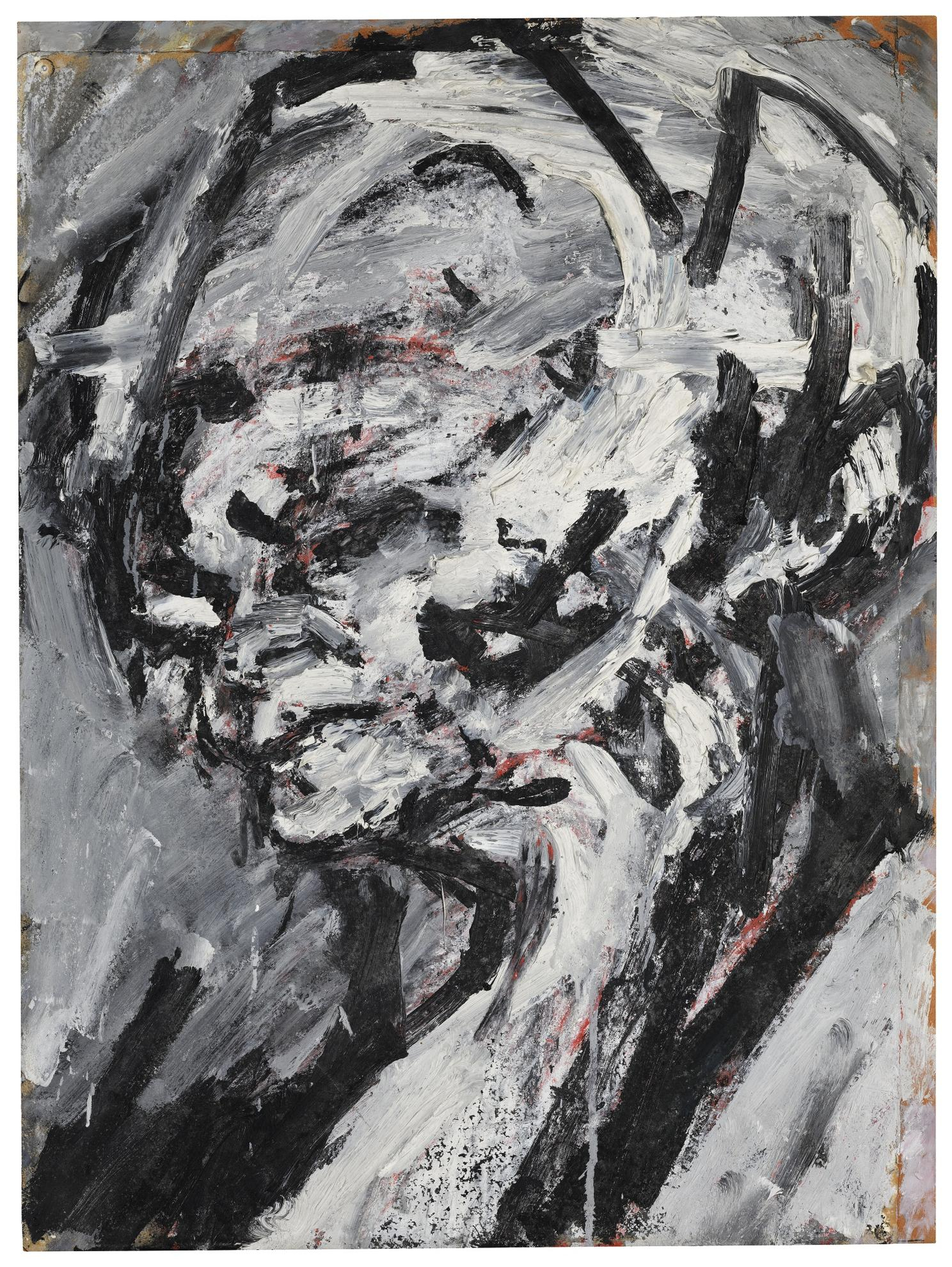 Frank Auerbach-Head Of Gerda Boehm-1965