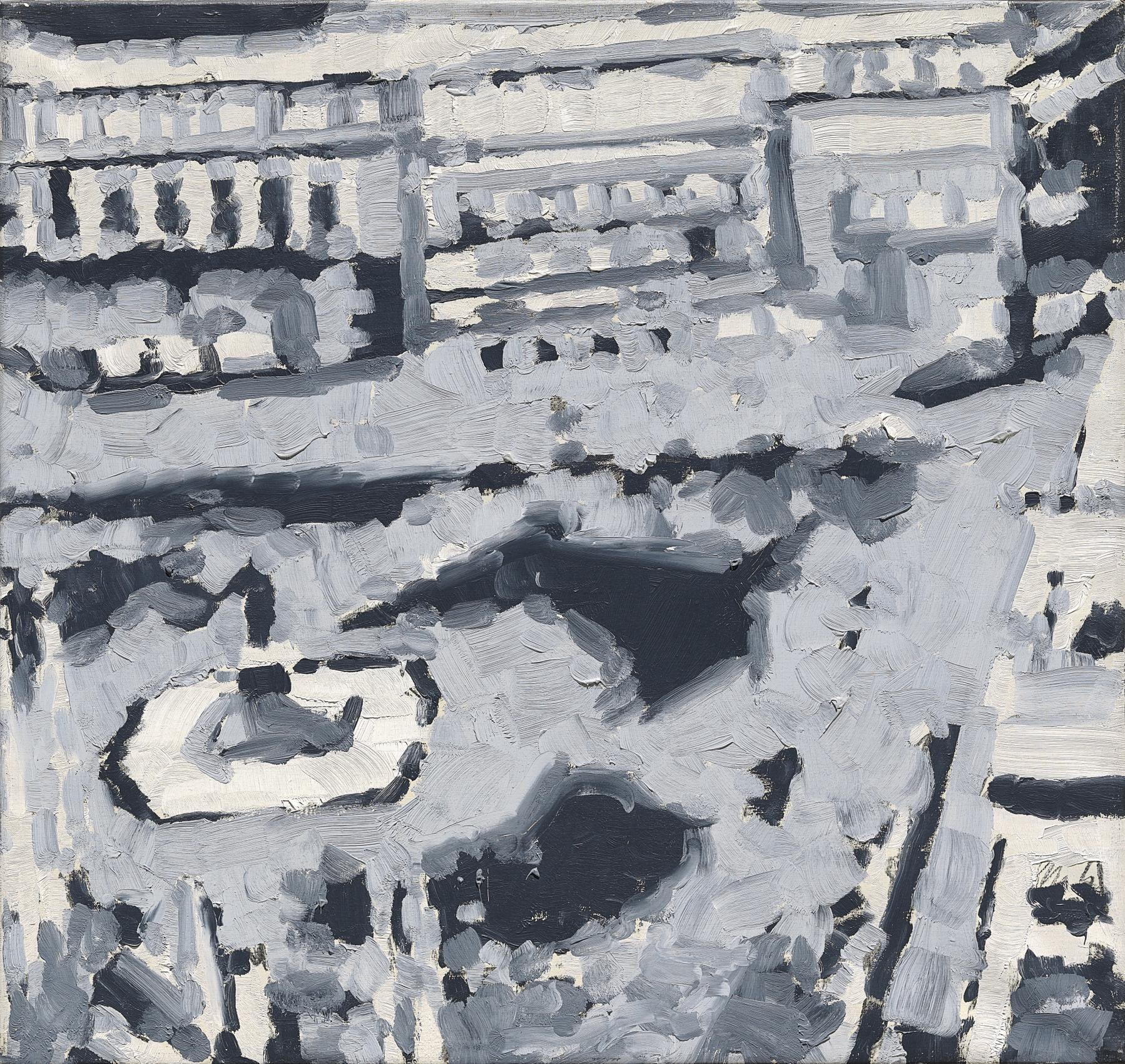 Gerhard Richter-Stadtbild M6 (Townscape M6)-1968
