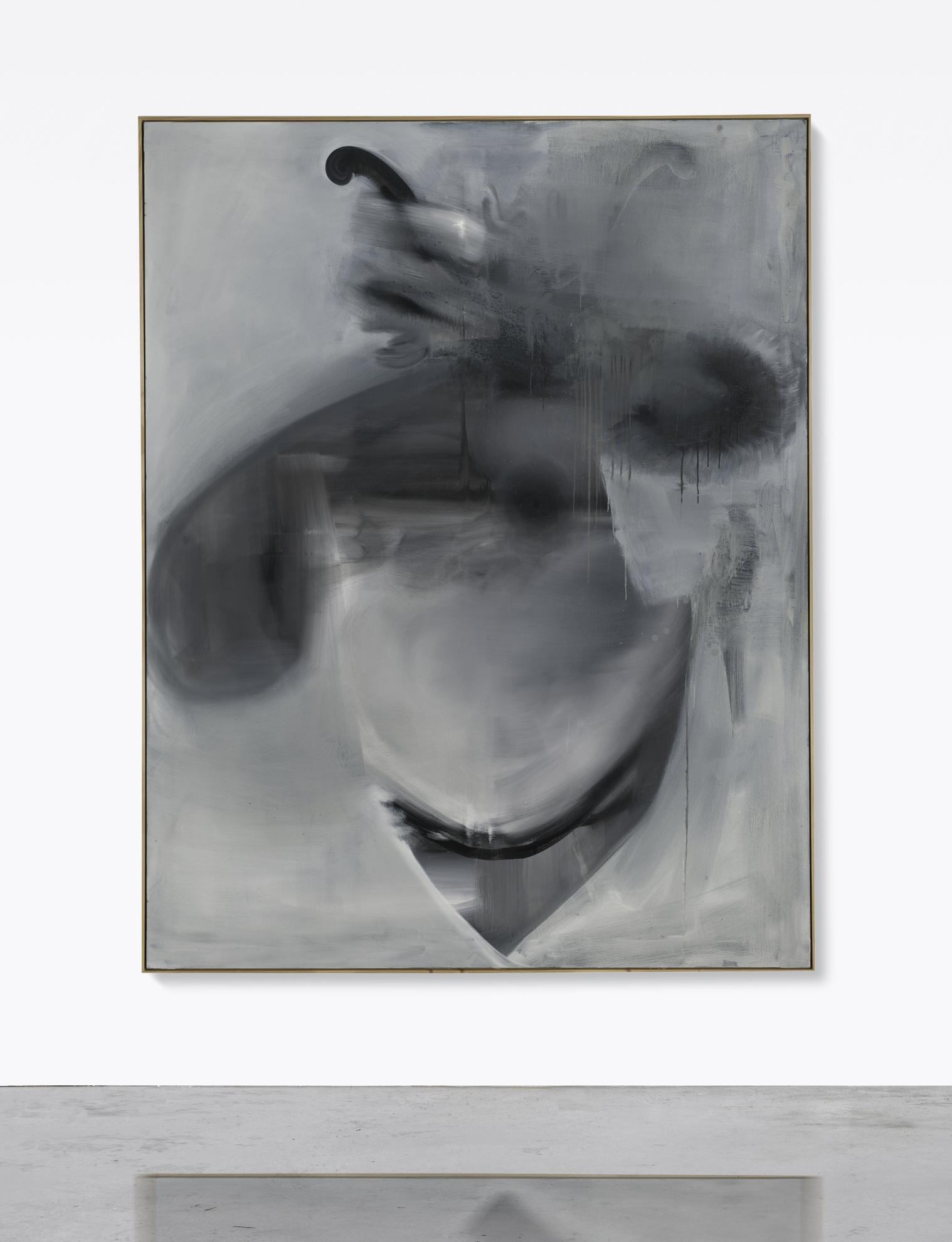 Albert Oehlen-Bronzekopie-2004