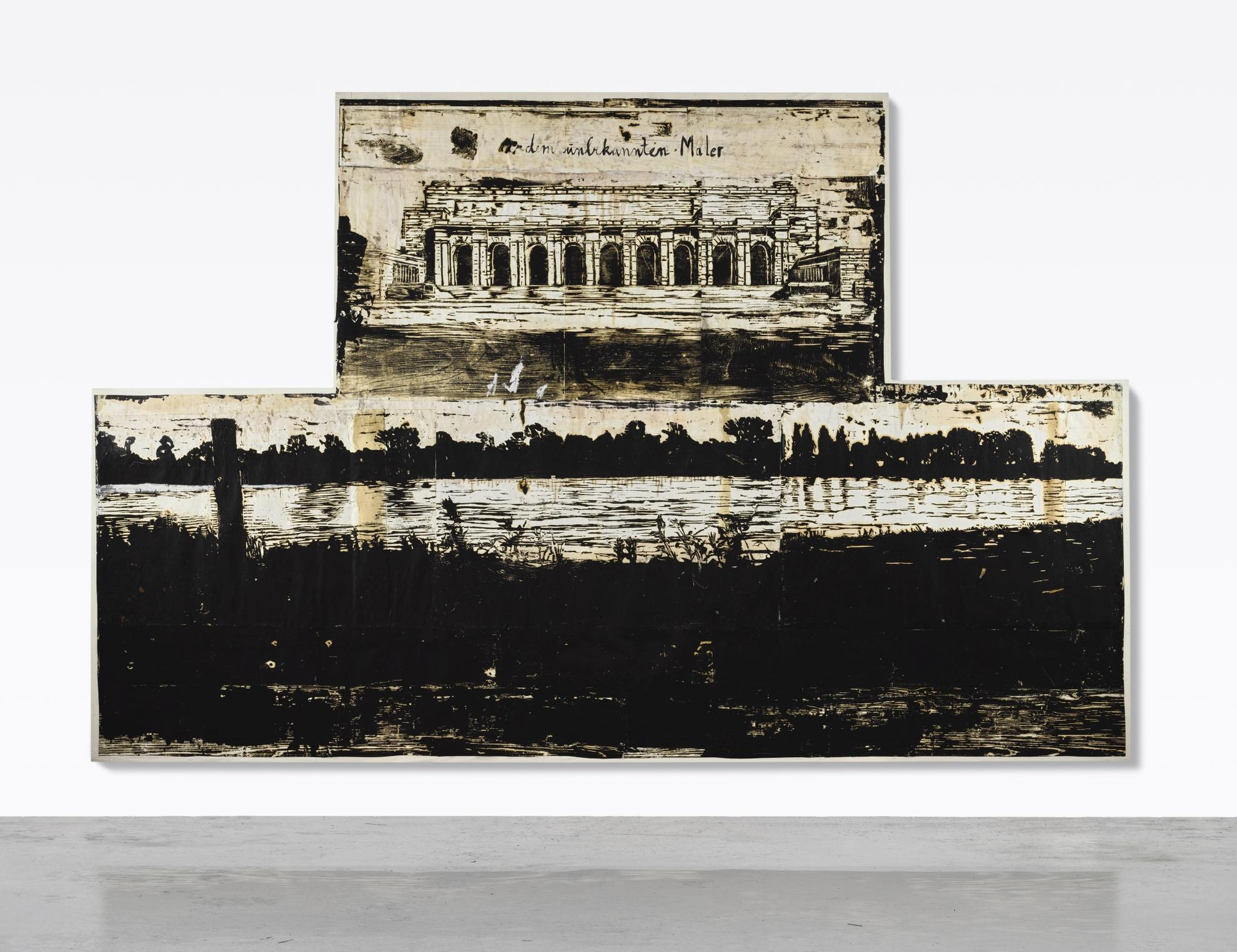 Anselm Kiefer-Dem Unbekannten Maler (To The Unknown Painter)-1982