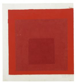 Josef Albers-Colour Study For Homage To The Square-1976
