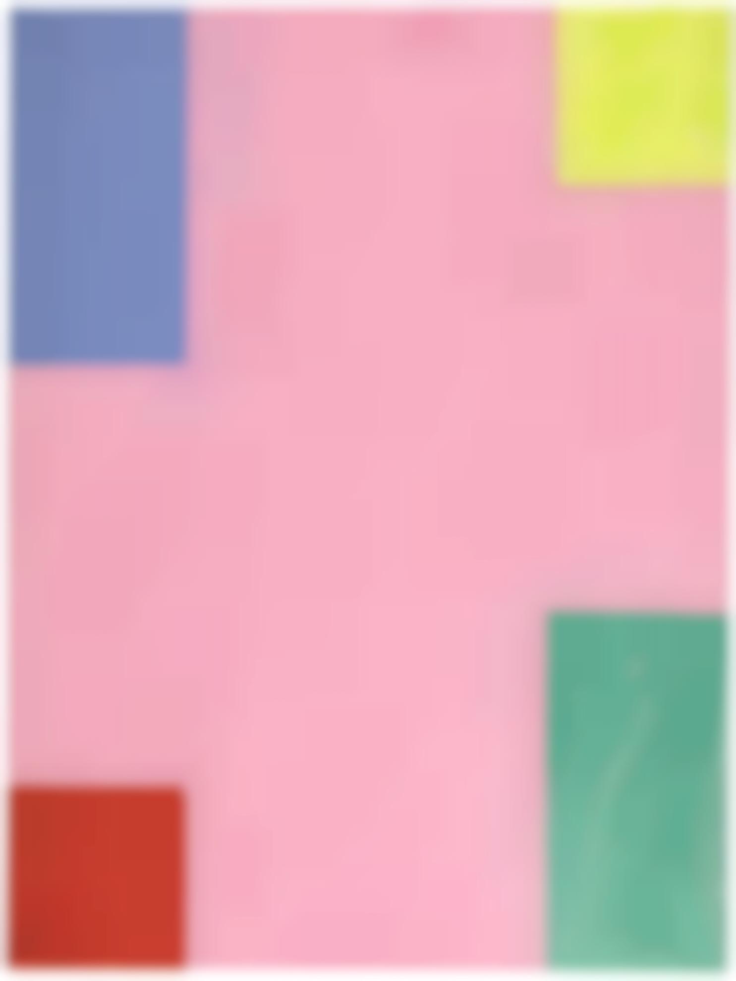Mary Heilmann-Pink Summer-2000