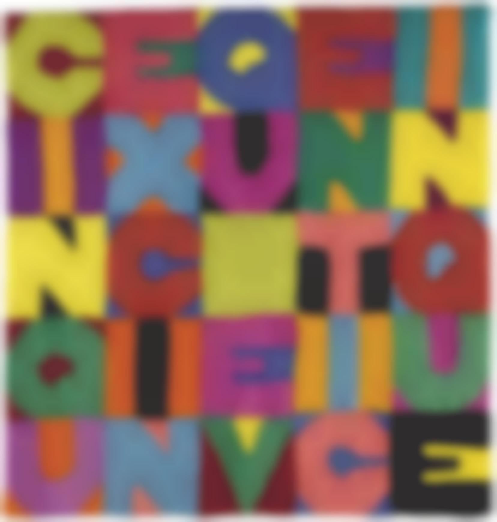 Alighiero Boetti-Cinque X Cinque E Venticinque-1988