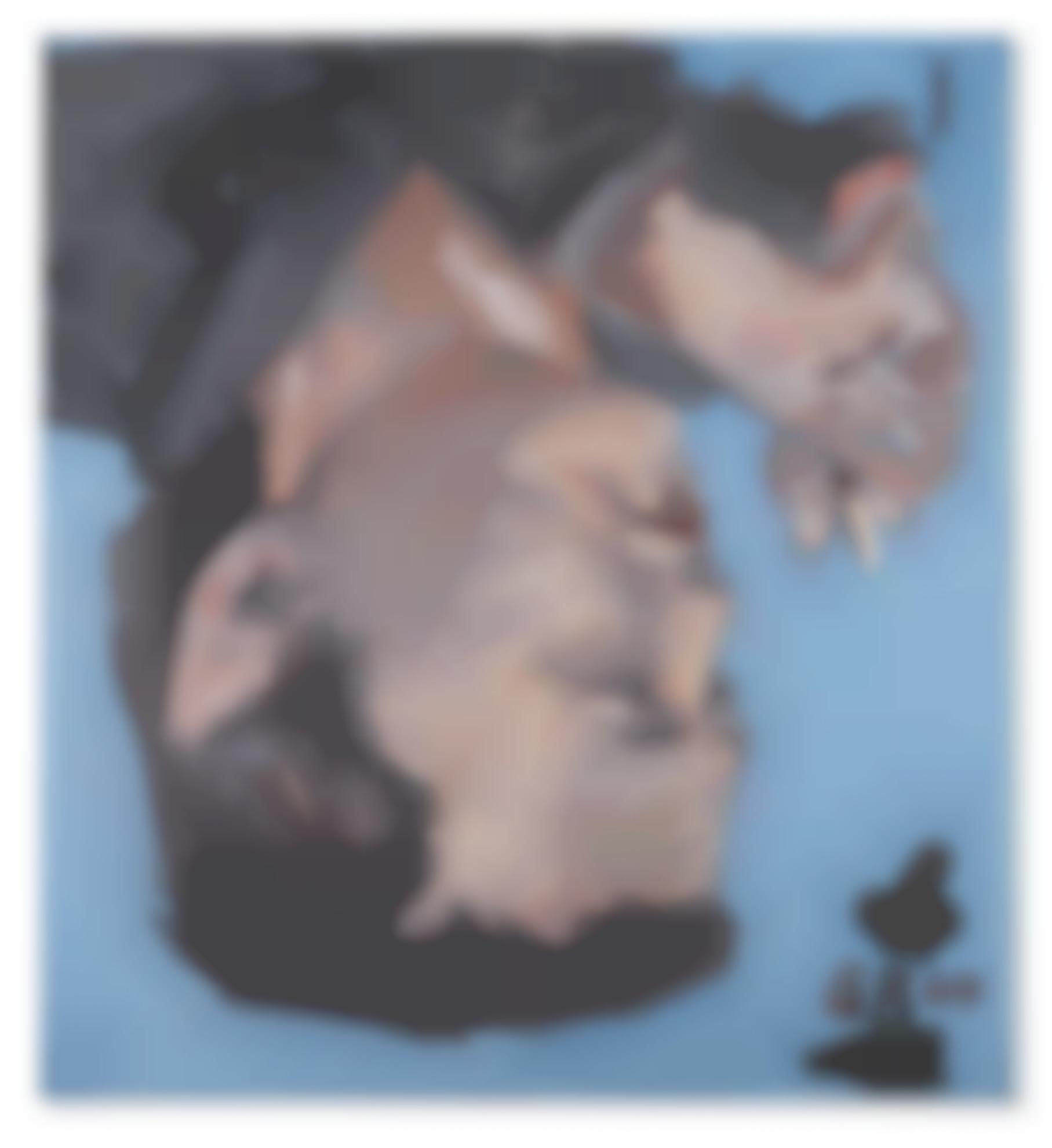 Georg Baselitz-Franz Dahlem-1969