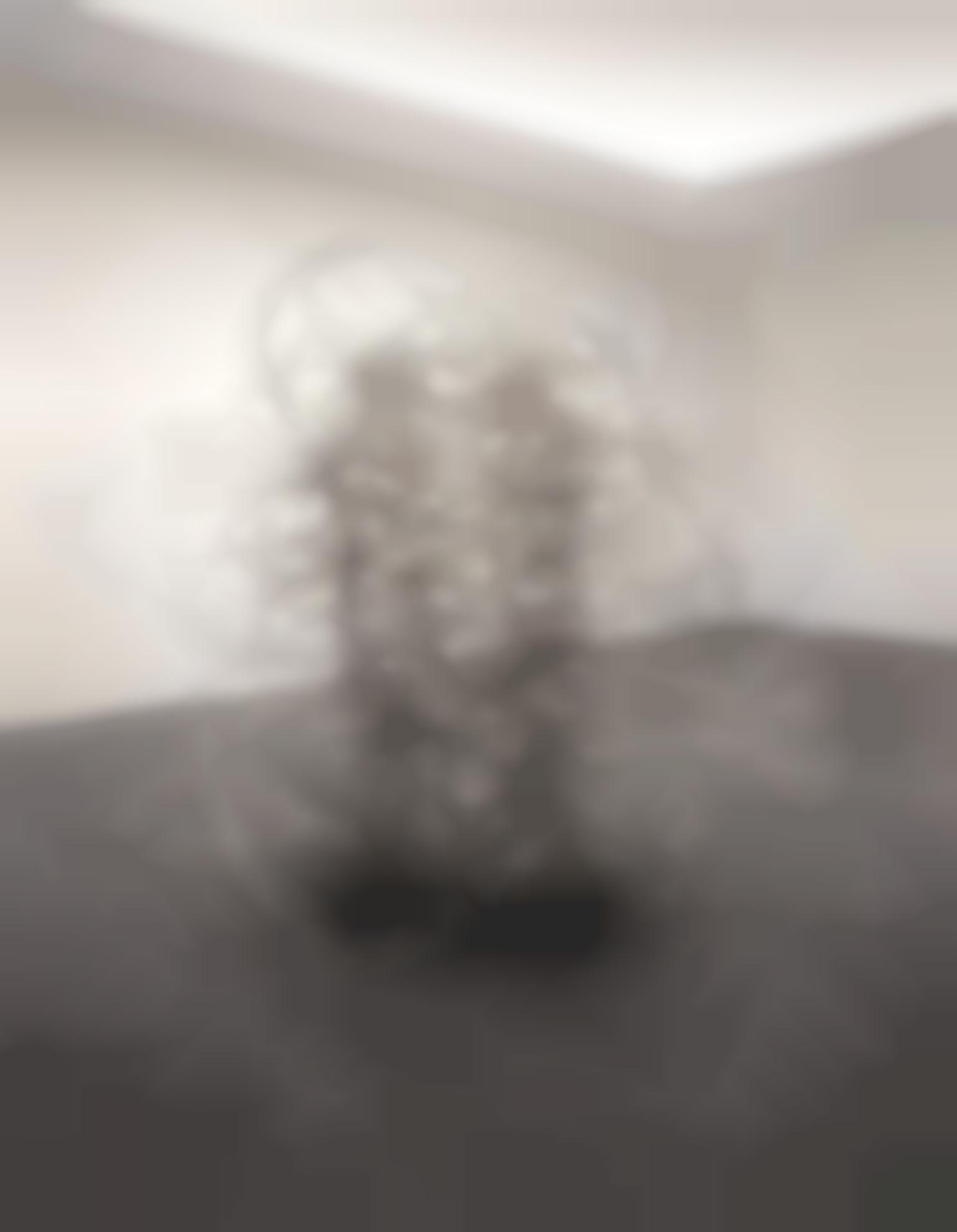Antony Gormley-Feeling Material XVIII (Double)-2005