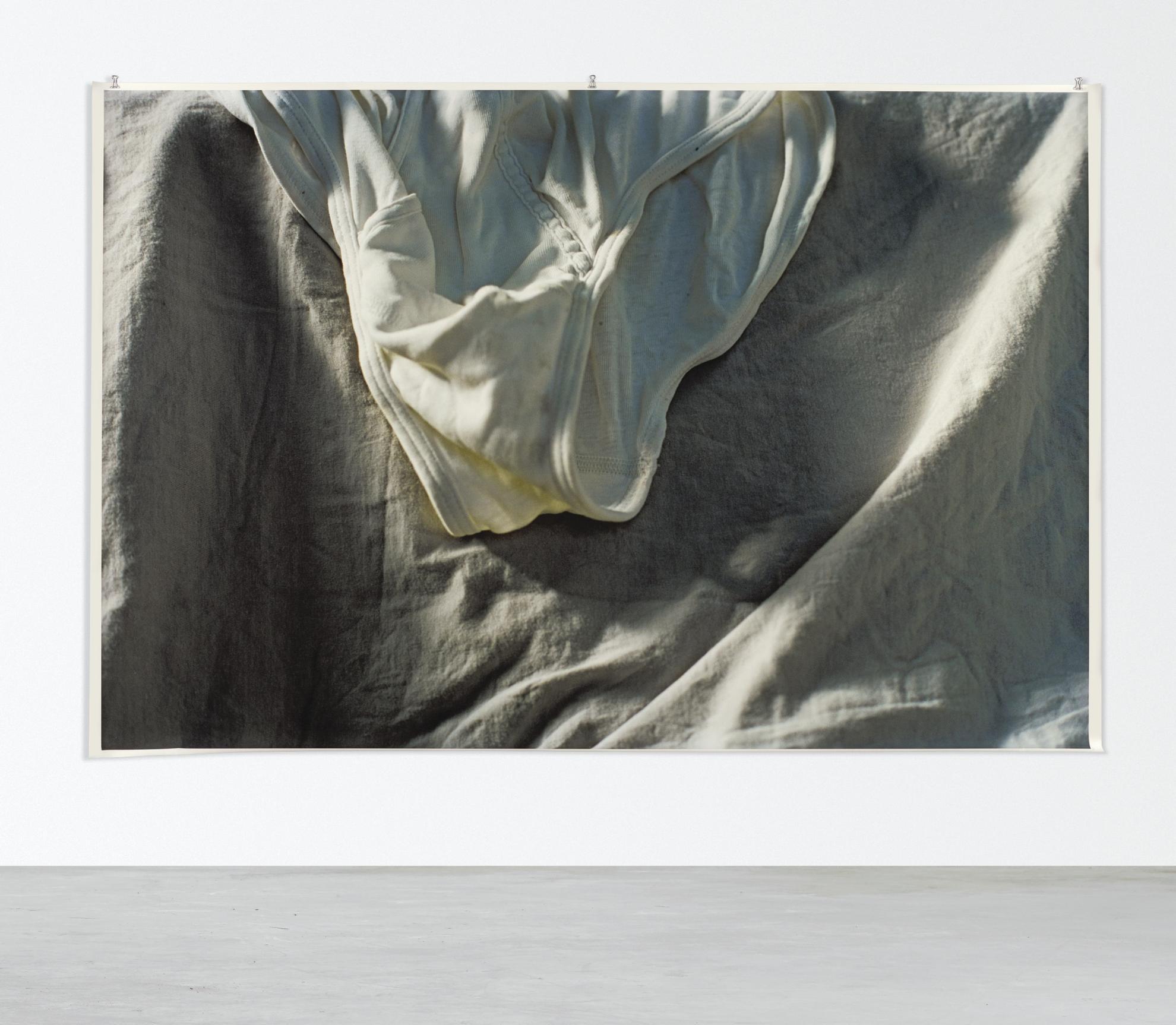 Wolfgang Tillmans-Faltenwurf (Grey)-2009