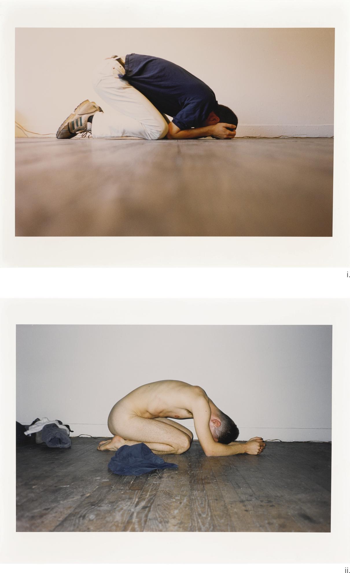 Wolfgang Tillmans-(i) Like Praying I (ii) Like Praying II-1994