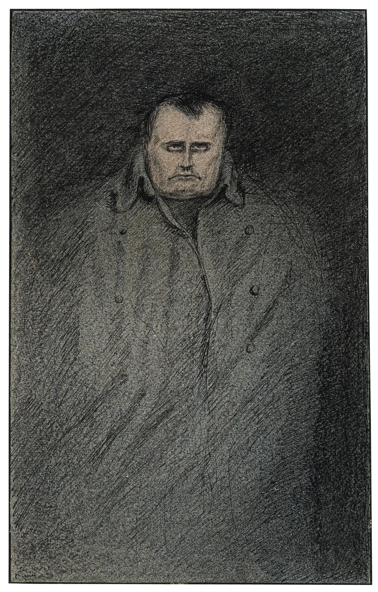 Alfred Kubin-Napoleon-1903