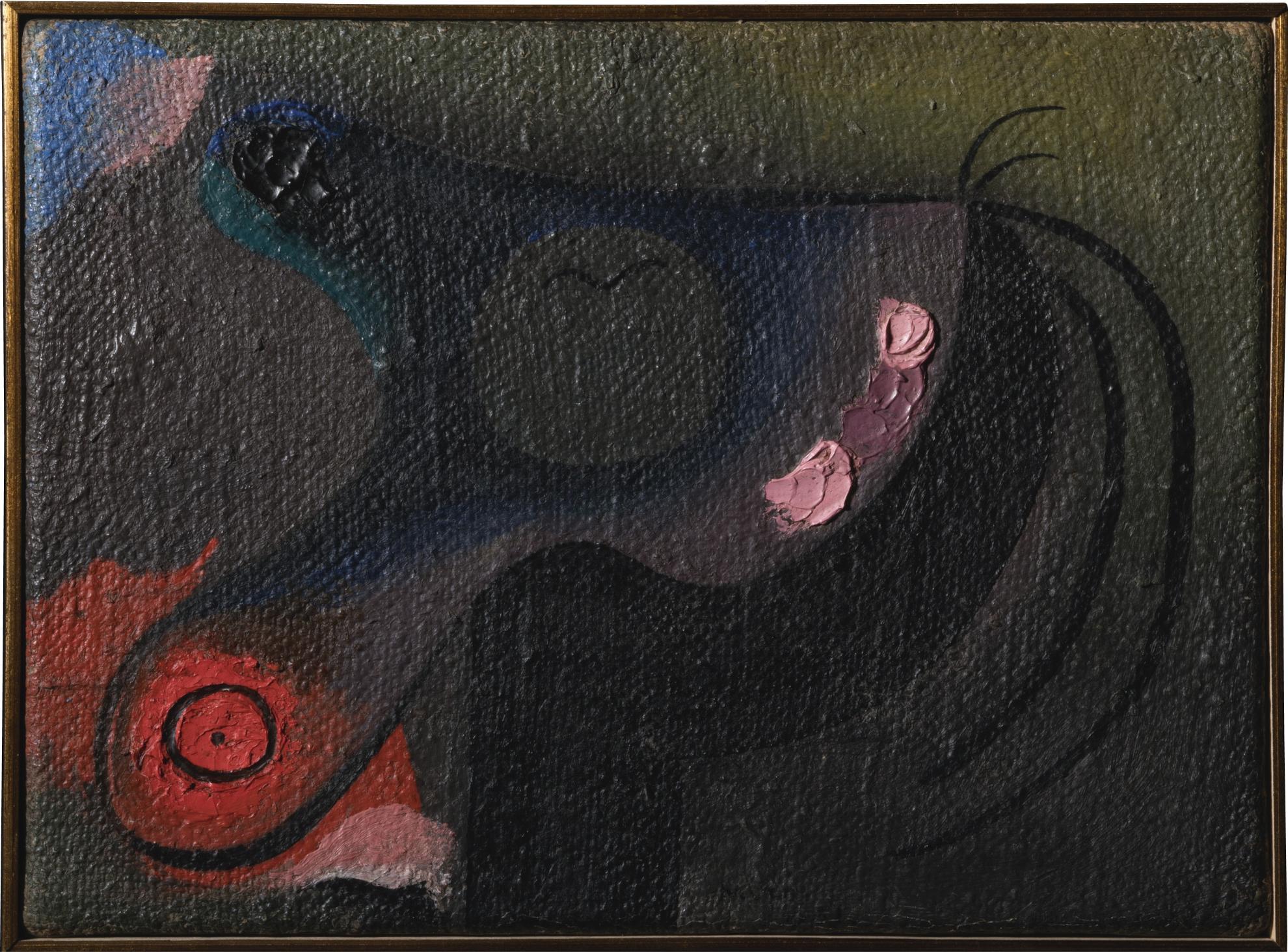 Joan Miro-Tete De Petite Fille-1931