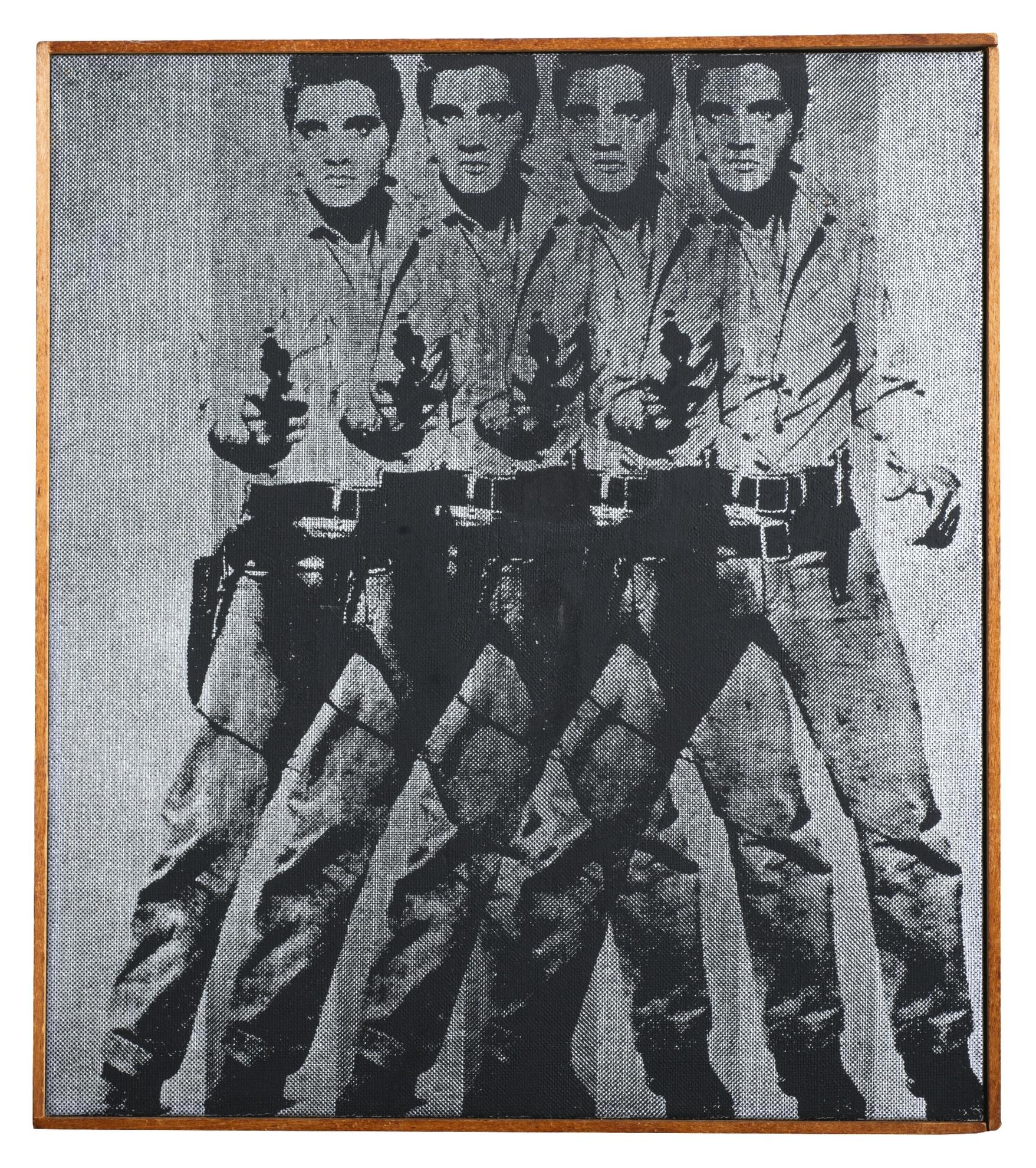 Richard Pettibone-Andy Warhol, 'Elvis', 1964-1968