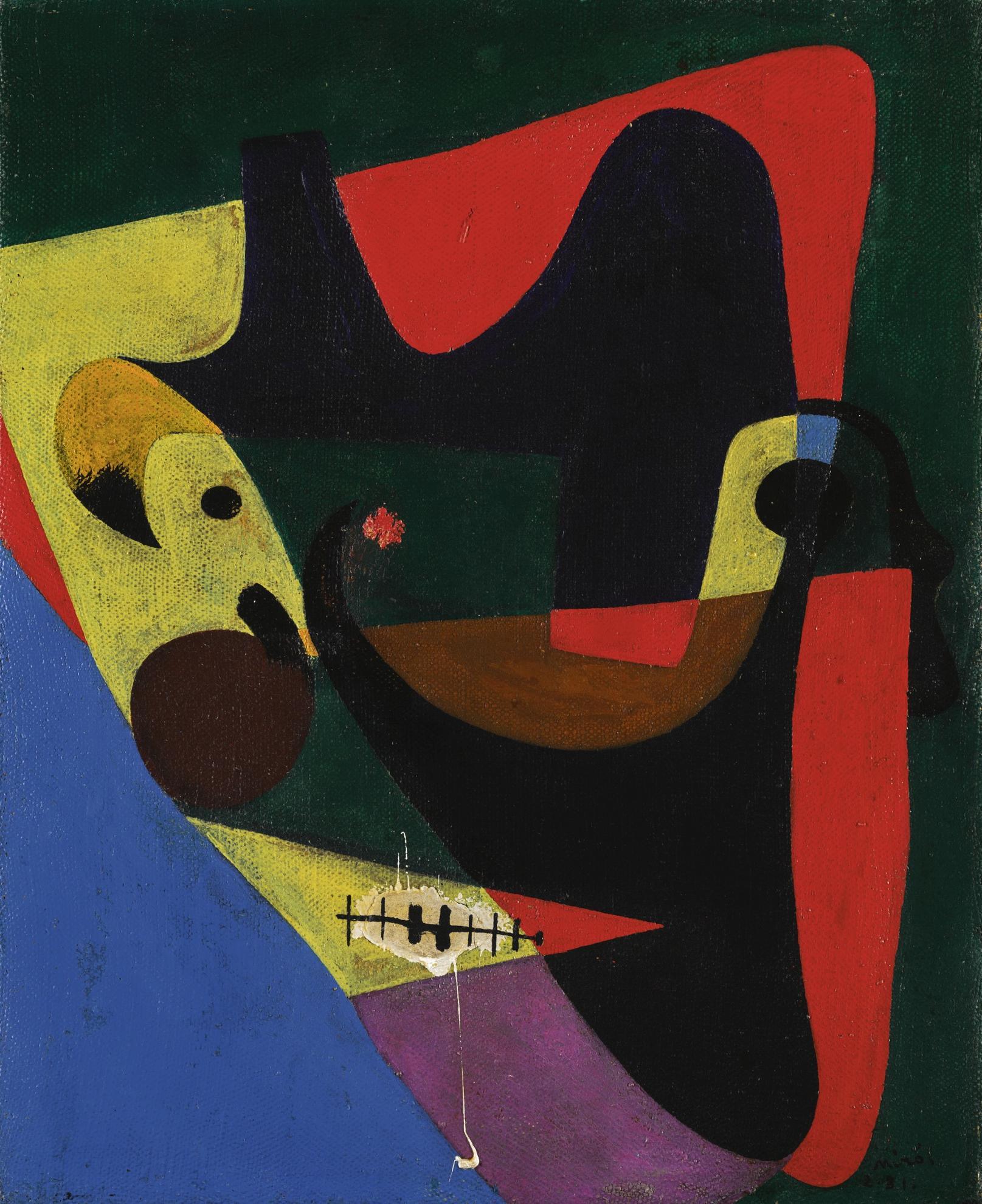 Joan Miro-Tete D'homme-1931