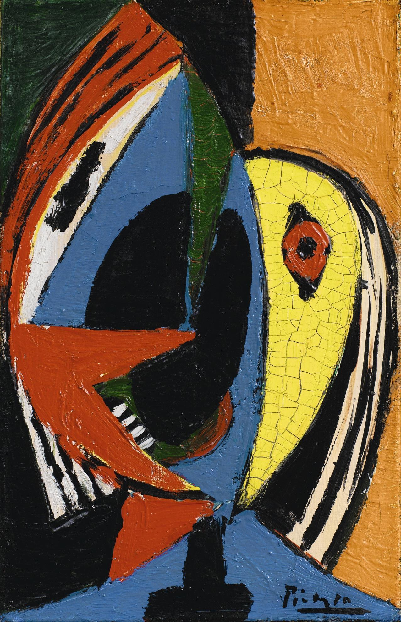 Pablo Picasso-Tete De Femme-1929