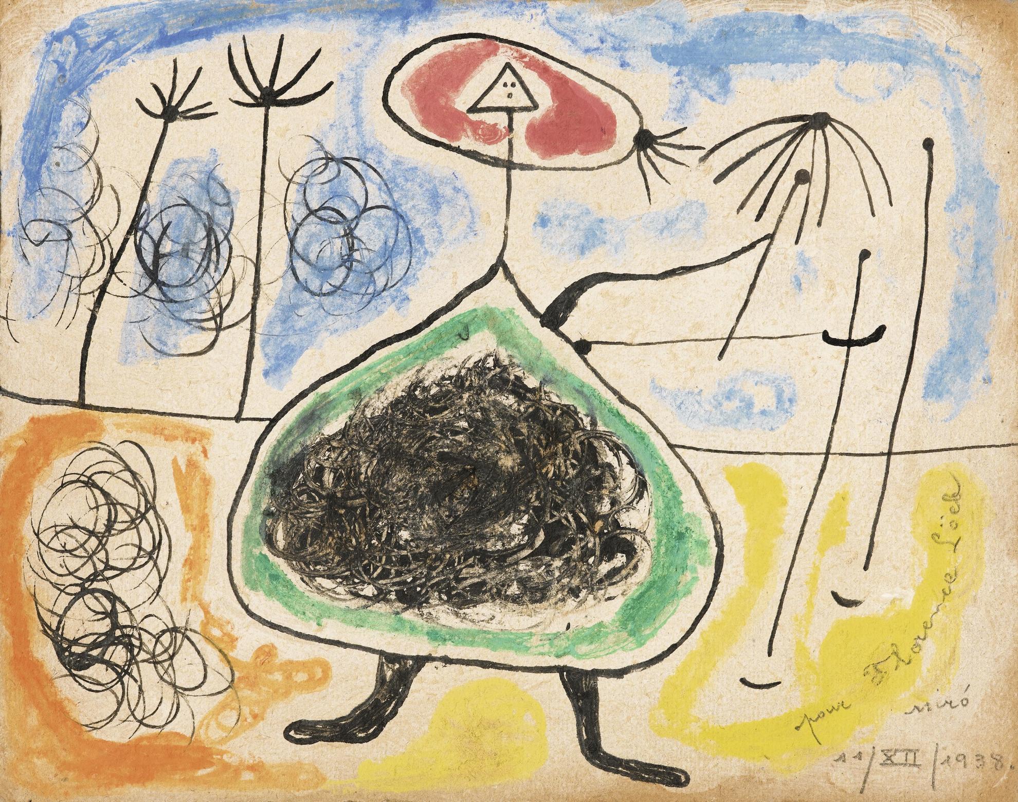 Joan Miro-Sans Titre-1938