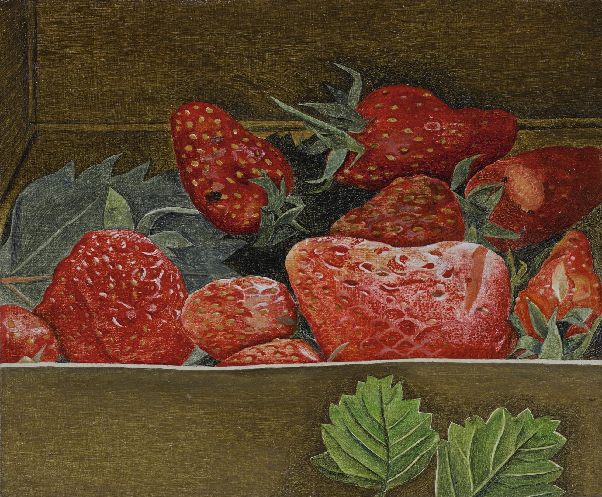Lucian Freud-Strawberries-1950