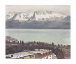 Albert Marquet-Le Grammont Vu De Lausanne-1936