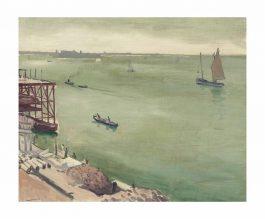 Albert Marquet-Venise, La Lagune-1936