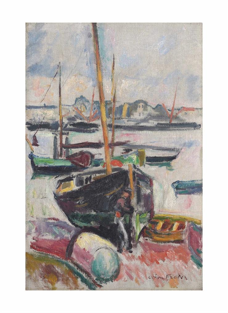 Achille Emile Othon Friesz - Le Port-1906