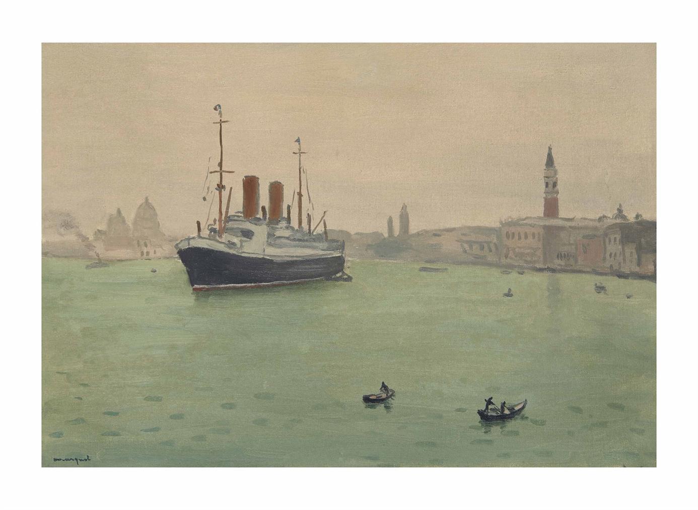 Albert Marquet-Venise, Le Paquebot-1936