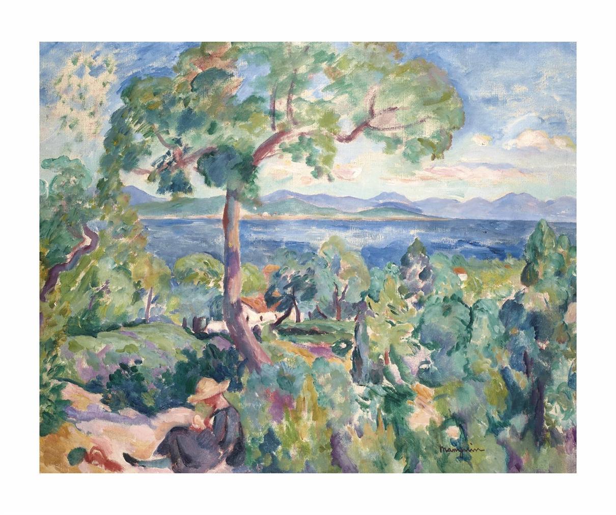Henri Charles Manguin-Le Golfe De Saint-Tropez-1919
