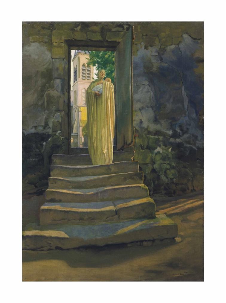 Carlos Schwabe - Maternite-1920