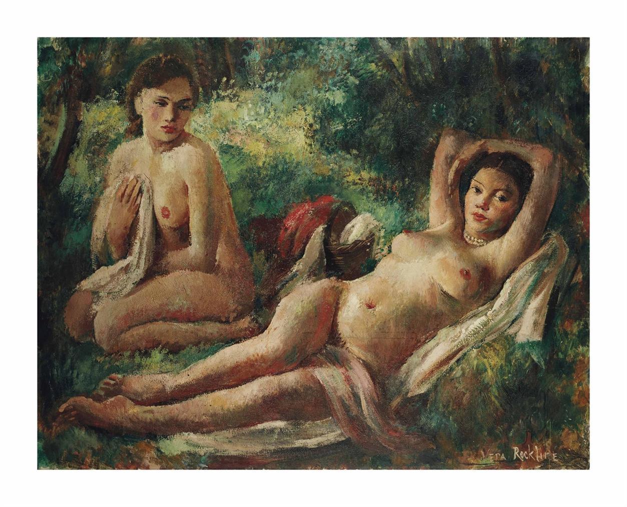 Vera Rockline - Le Dejeuner Sur Lherbe Des Deux Amies-1927