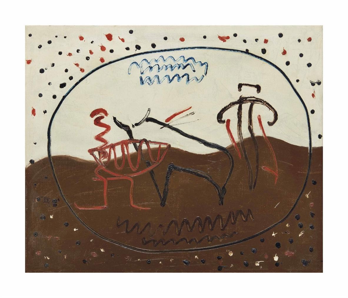 Man Ray-Course De Taureaux-1927