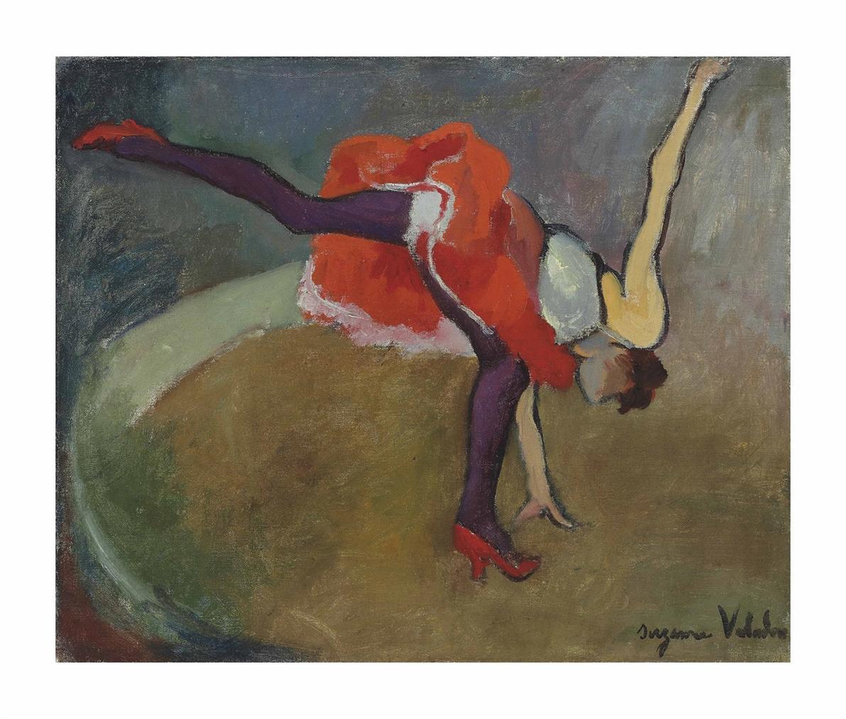 Suzanne Valadon-L Acrobate Ou La Roue-1927
