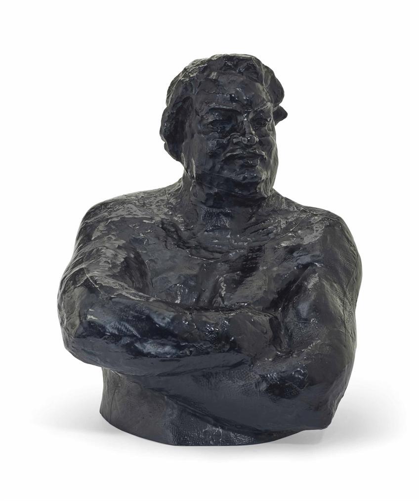 Auguste Rodin-Balzac, Etude Type C (Torse), Grand Modele, 2Eme Version-1927