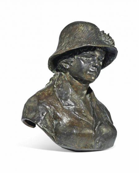 Pierre-Auguste Renoir-Buste De Madame Renoir-1983