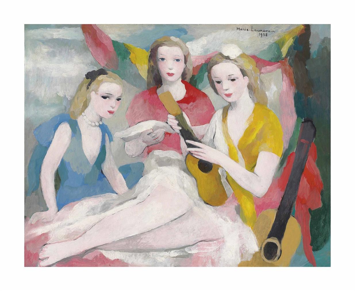 Marie Laurencin-Musique-1938