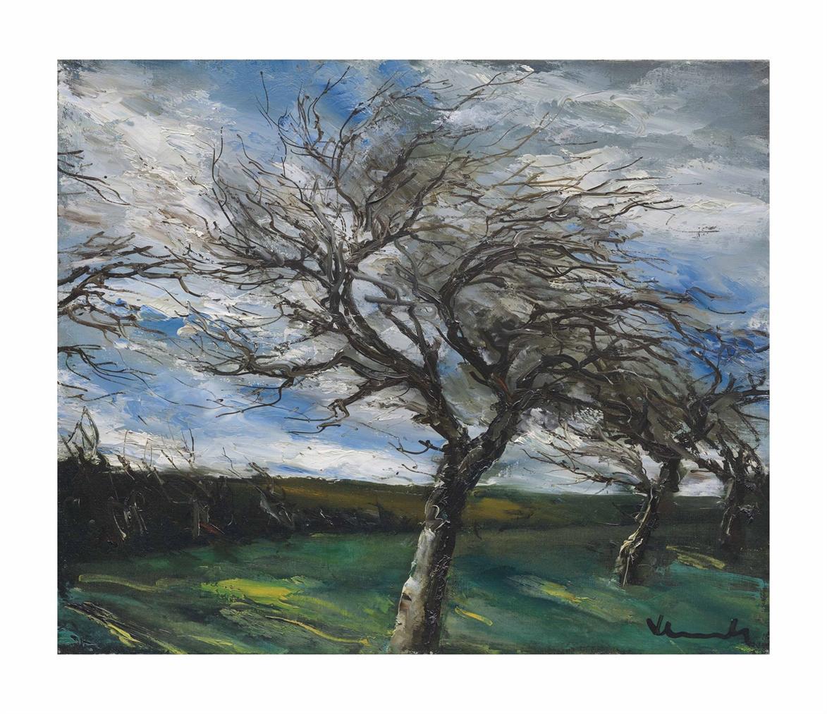 Maurice de Vlaminck-Paysage Dautomne-