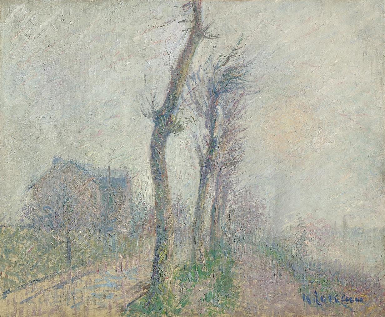 Gustave Loiseau-Bord De L'Eau, Pontoise-1925