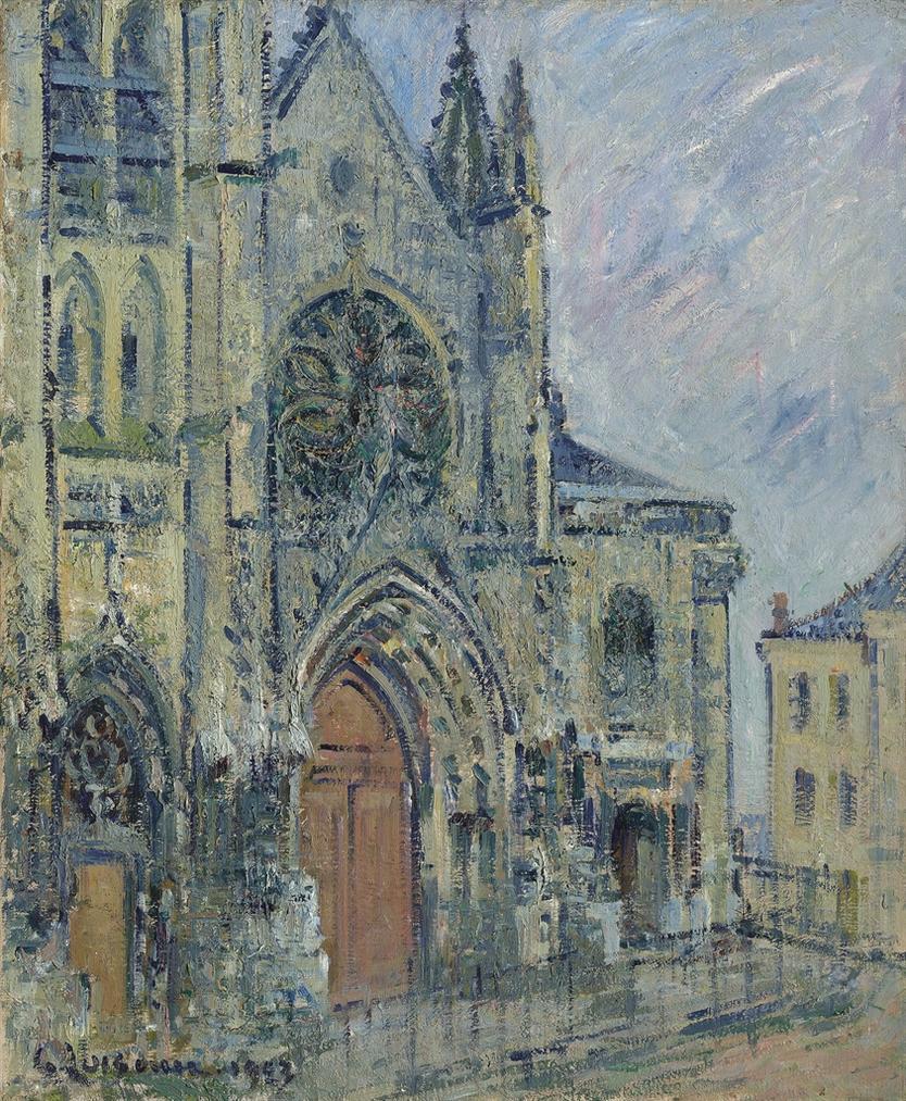 Gustave Loiseau-Leglise St Maclou, Pontoise-1923