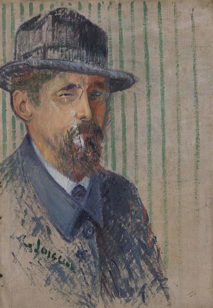 Gustave Loiseau-Autoportrait-1919