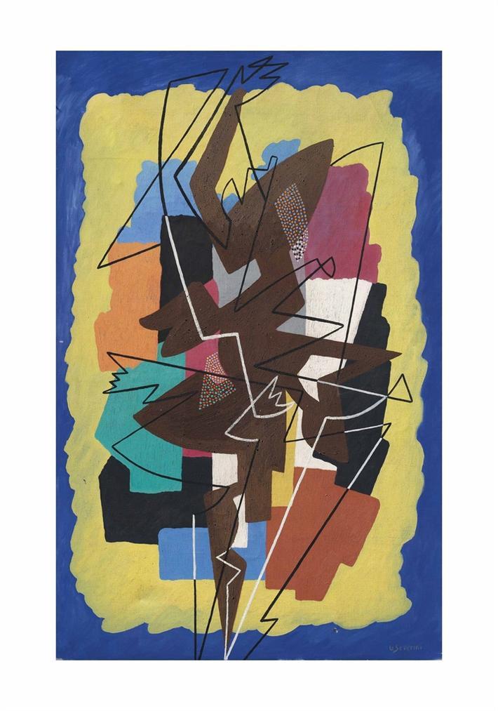 Gino Severini-Rythme Dune Danseuse (Mouvement - Son - Lumiere)-1959