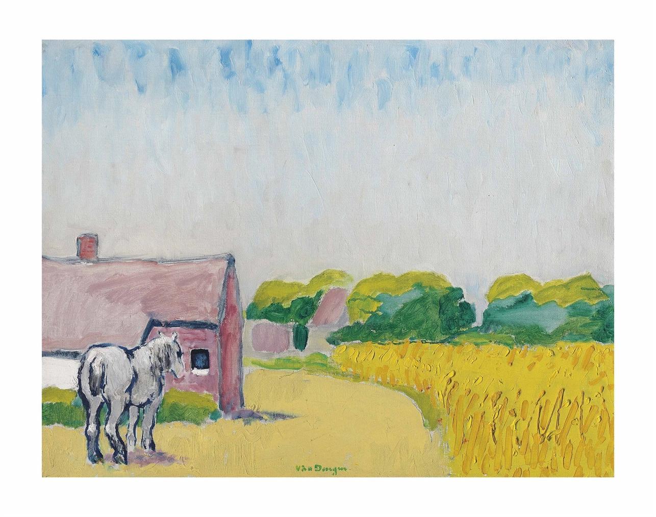 Kees van Dongen-Le Cheval Blanc-