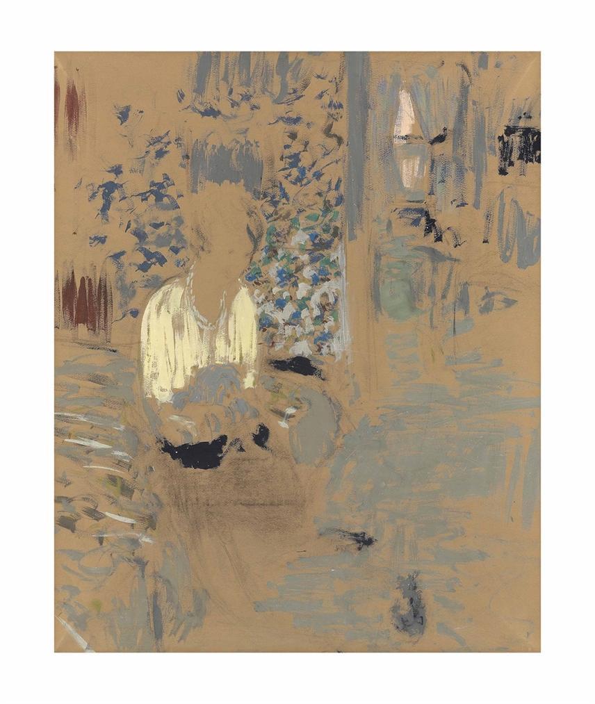 Edouard Vuillard-Comtesse Jean De Polignac-1928