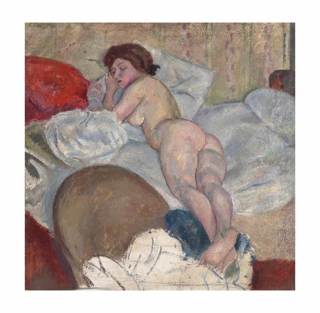 Jules Pascin-Dans Une Chambre D'hotel-1908